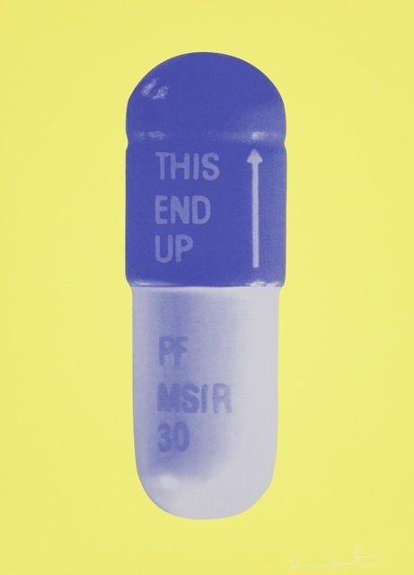 , 'The Cure, NeonYellow-FrenchLilac-Amethyst,' 2014, Kunsthuis Amsterdam