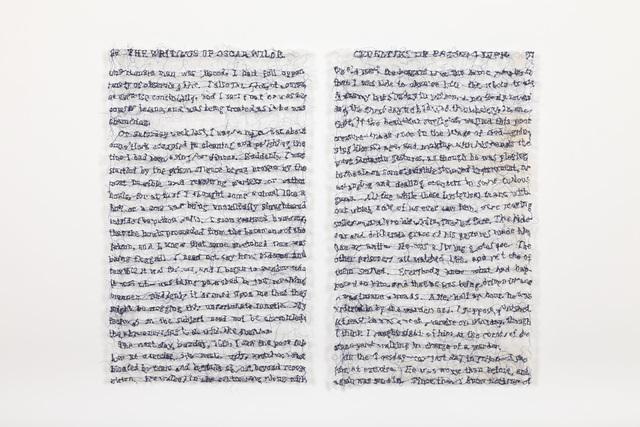 Lisa Kokin, 'Empathy (Cruelties of Prison Life, Oscar Wild)', 2014, Seager Gray Gallery