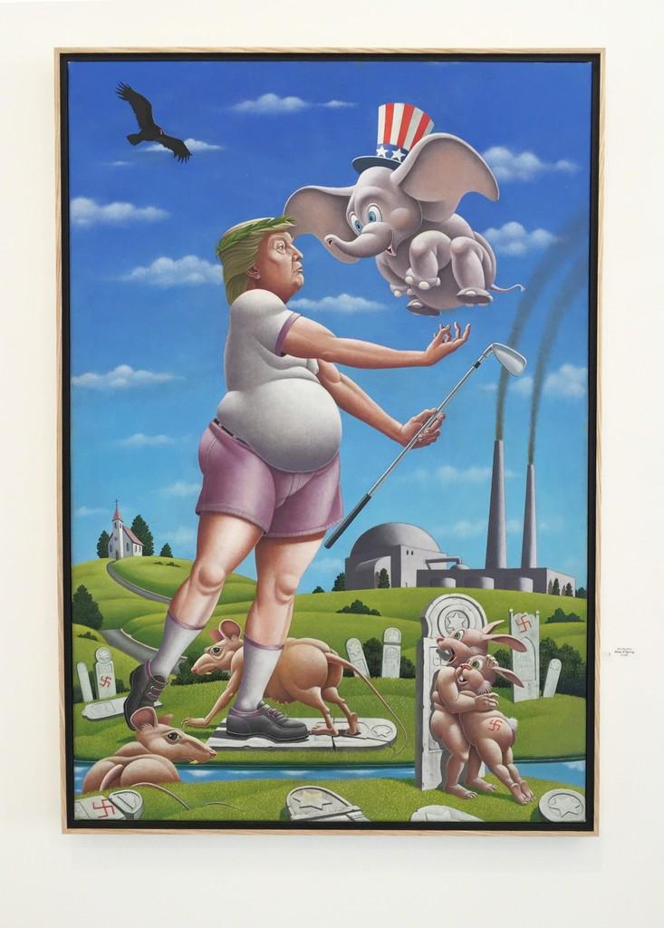 """Gallery view, """"Rites of Spring"""" by Mac Mechem"""