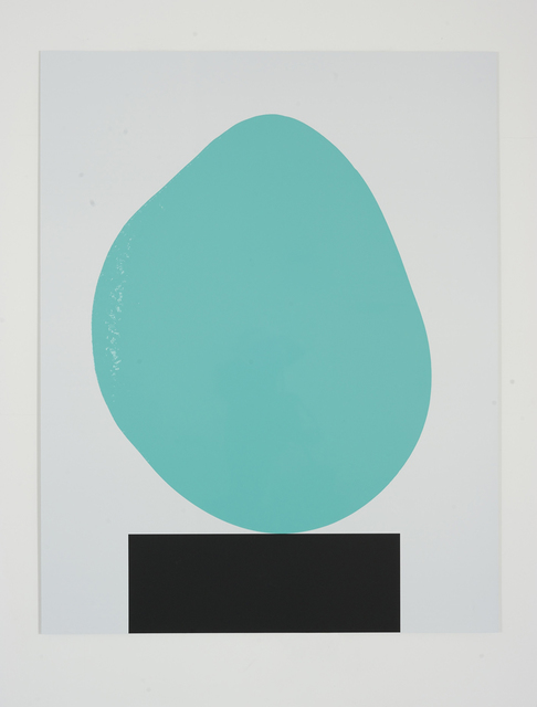 , 'Colour Chart No.57 (Turquoise) 24.10.12,' 2012, Ingleby Gallery