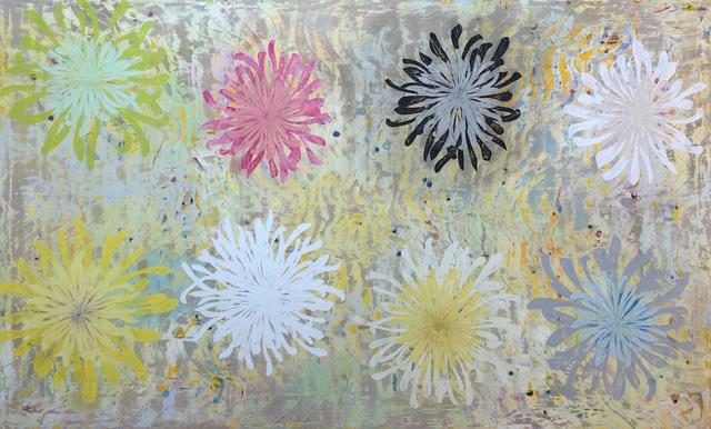 , 'Chrysanthemum Tapestry,' 2018, Sara Nightingale Gallery