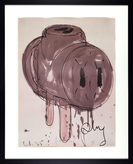 Claes Oldenburg, 'Sketch of 3-way Plug', 1972, Axiom Fine Art