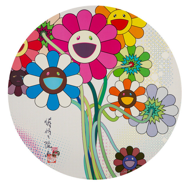 Takashi Murakami, 'Even the Digital Realm has Flowers to Offer!', 2010, Heritage Auctions