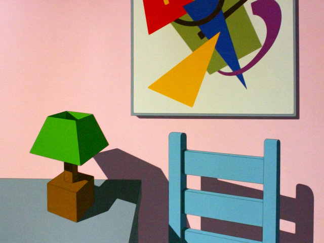 , 'Modern Interior,' 1974, Brook Gallery