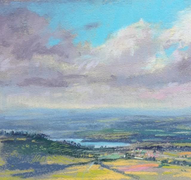 , 'Study, View from Cortona,' 2018, 530 Burns Gallery