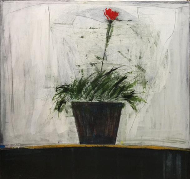 , 'Small flower black pot,' 2012, Dan Gallery