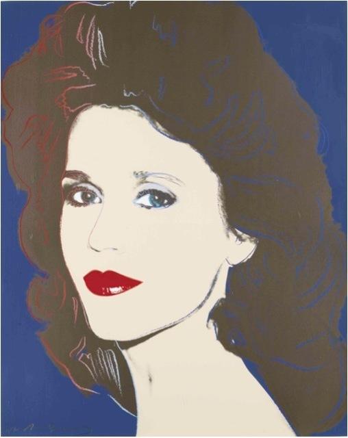 Andy Warhol, 'Jane Fonda (double signed) II.268', 1986, OSME Fine Art
