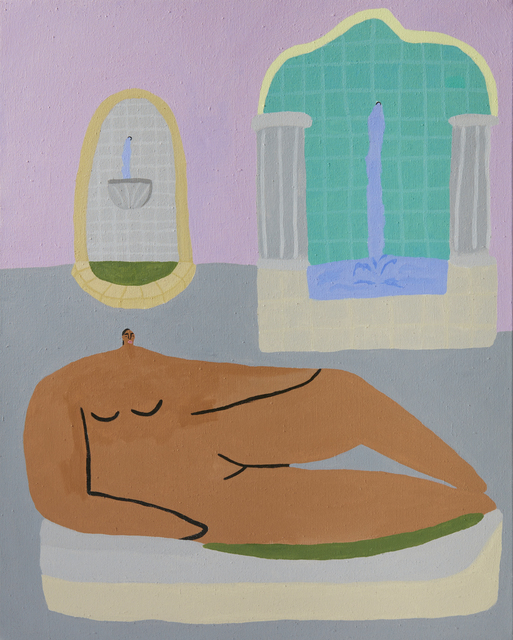 , 'Figure With Two Fountains ,' 2017, Ochi Projects