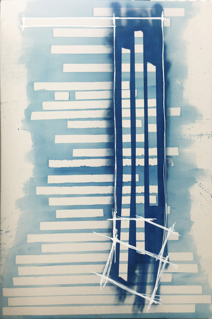 Marcello Pozzi, 'OVERLINES 3 | Abstract Painting Los Angeles  ', 2010, Cabiria Art Gallery