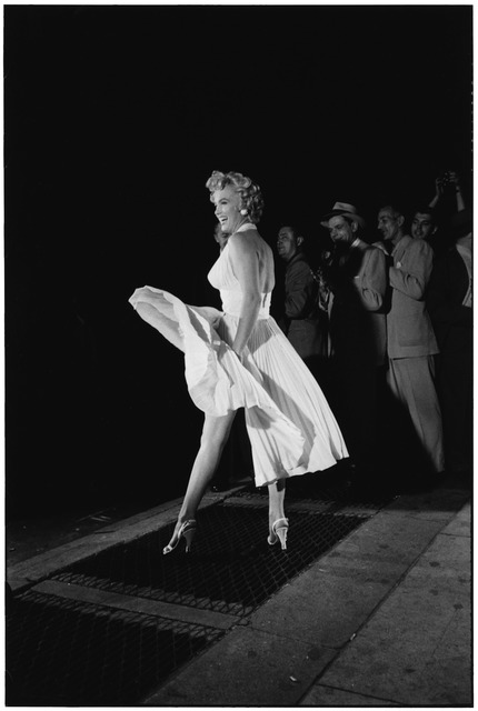 Elliott Erwitt, 'Marilyn Monroe on the Set of 'The Seven Year Itch', New York, 1954', 1954, Huxley-Parlour