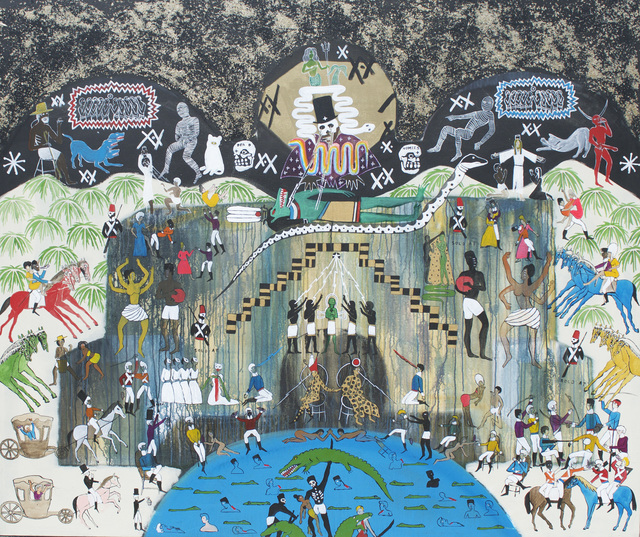 , 'The Palace of the Quilombos.  Gonaives 1793,' 2015, Johannes Vogt Gallery