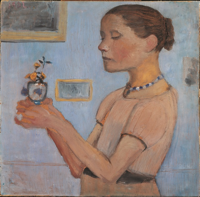 , 'Jeune Fille Tenant des Fleurs Jaunes dans un Verre ,' 1902, Musée d'Art Moderne de la Ville de Paris