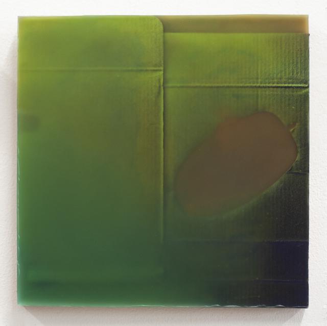 , '650 (unframed waxwork,' 2018, Front Room Gallery