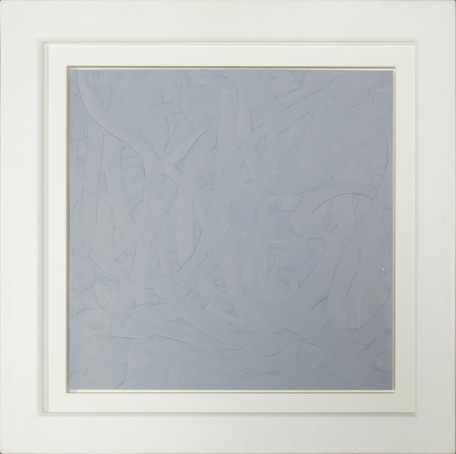 , 'Vermalung (grau),' 1971, RUDOLF BUDJA GALLERY