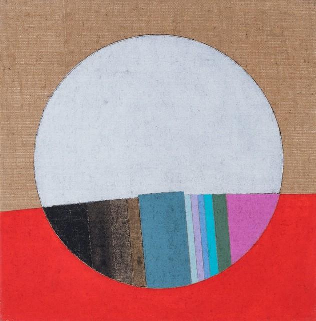 Eugenio Carmi, 'Bianco e rosso', 1985, Painting, Oil on canvas, Finarte