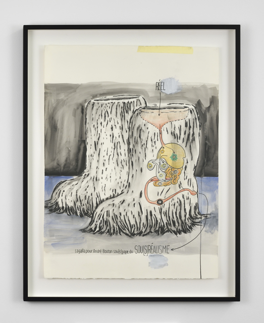 , 'Sou[s]réalisme,' 2012, Galerie Thomas Bernard