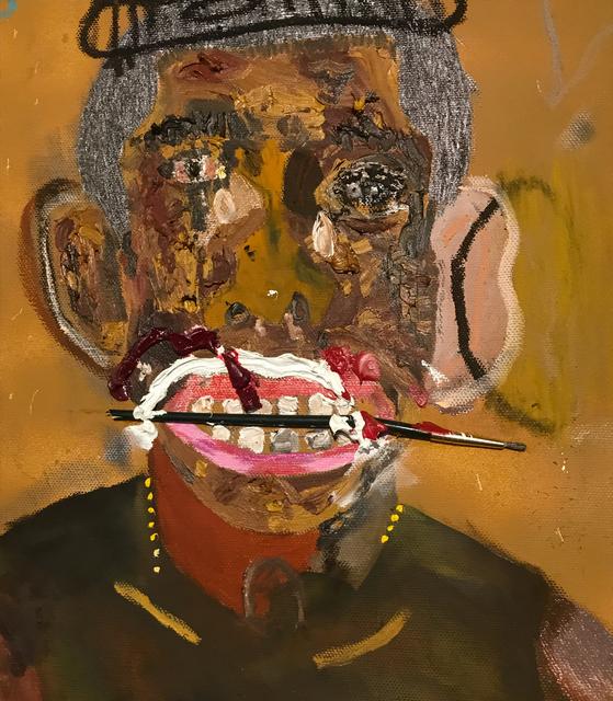 John Rivas, 'Que Hago Sin Ti', 2019, Painting, Mixed media on canvas, LatchKey Gallery