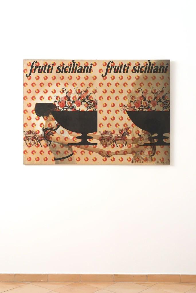 Mimmo Rotella - installation view © Fondazione Mimmo Rotella