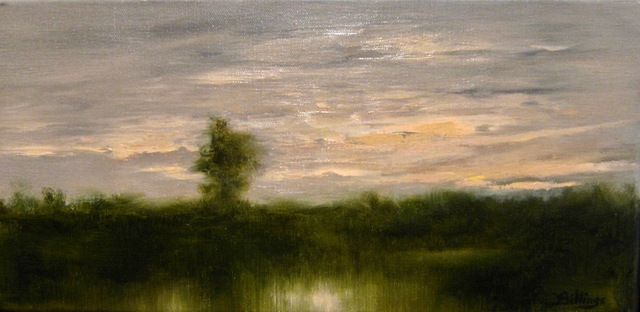 , 'Waiting for Night ,' ca. 2018, Copley Society of Art