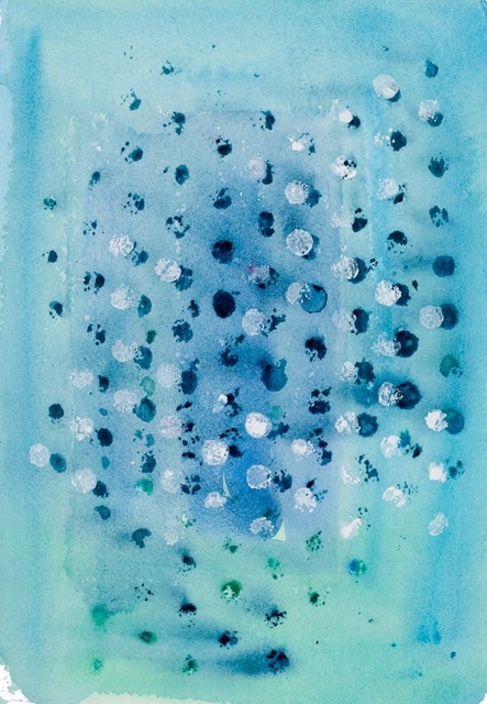 Hilary Cooper, 'Abstract 5', 2017, Painting, Watercolor, Argazzi Art