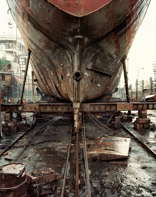 , 'Ship´s stern at scrapyard,' , Ansorena Galeria de Arte