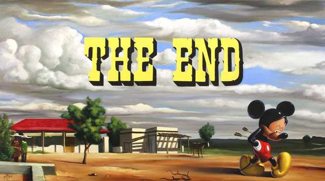 , 'The End,' 2019, Bruce Lurie Gallery