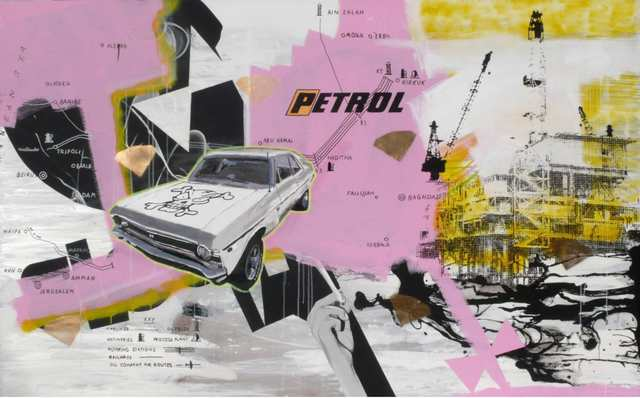, 'Together we`ll drink in the petrol fumes,' 2007-08, Cultural Avenue