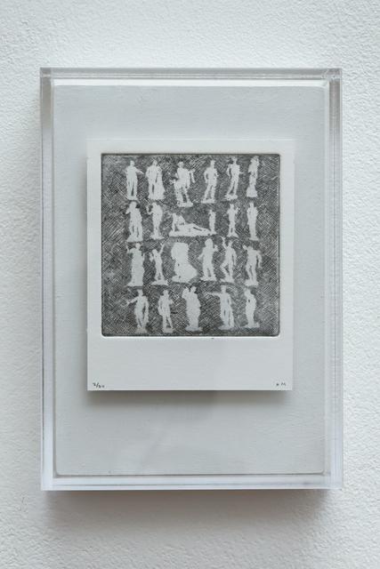 , 'Polaroid Etching 3,' 2015, Joanna Bryant & Julian Page