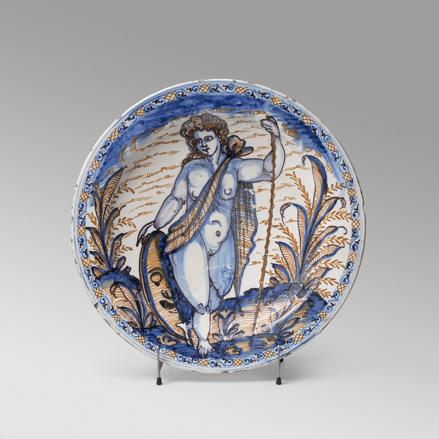 , 'Great plate with figure,' First half of 17th Century, Artur Ramon Art