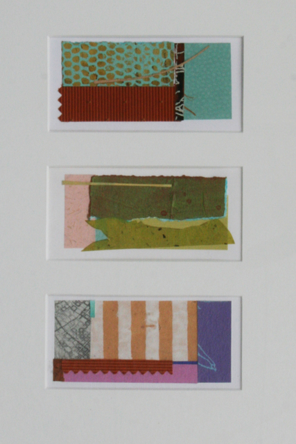 , 'Collage #6, #7 & #8 (Triptych),' , Wallace Galleries
