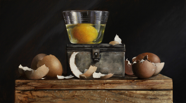 , 'Egg and Shells,' 2019, William Baczek Fine Arts