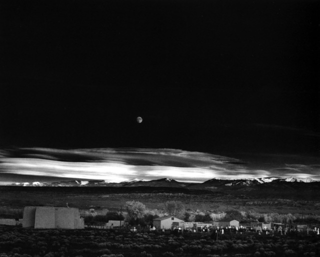 , 'Moonrise, Hernandez, New Mexico,' 1941, Robert Mann Gallery