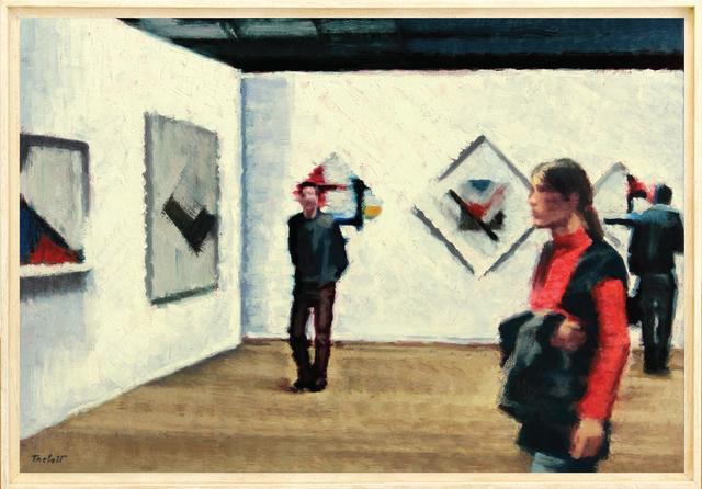 , 'La Nocturne, Exposition Mondrian,' 2011, Galerie Art Jingle