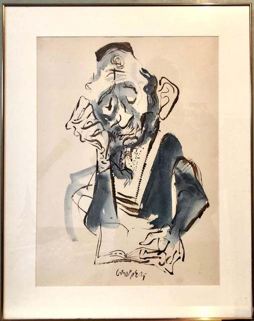 William Gropper, 'Untitled', Mid-20th Century, Painting, Gouache, Ink, Watercolor, Lions Gallery