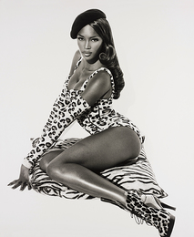 Herb Ritts, 'Naomi Seated, Hollywood,' 1991, Phillips: Photographs (November 2016)