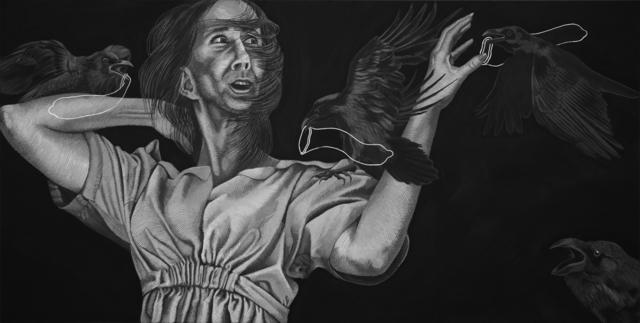 , 'Los Pajaros,' 2018, Coagula Curatorial