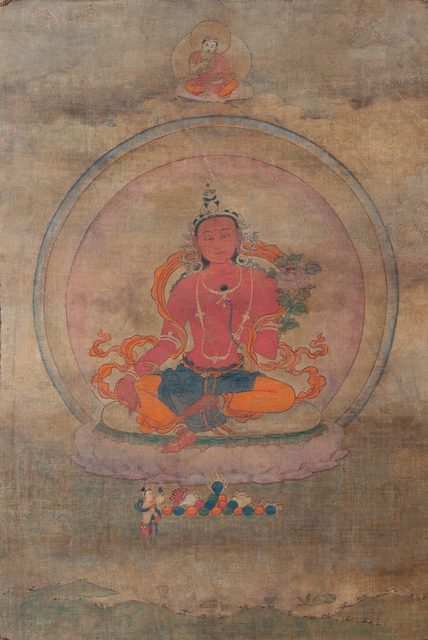 , 'Thangka of Red Tara in the Palpung Monastery style,' 18th century, Rossi & Rossi