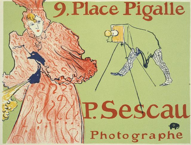 , 'Palace Pigalle - Le Photographe Sescau,' 1896, Omnibus Gallery