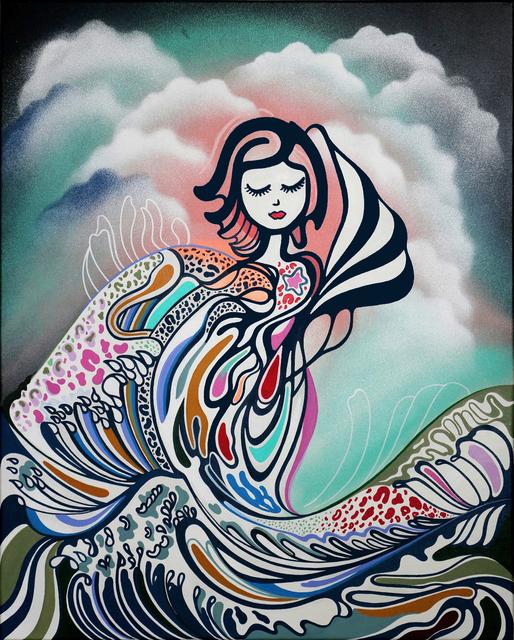 , 'Playing With Dreams Off Kanagawa,' 2017, Addicted Art Gallery