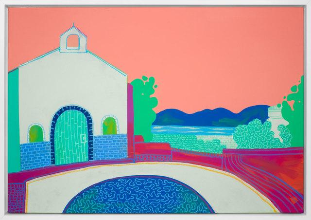 , 'Chapel Vista,' 2017, Rebecca Hossack Art Gallery