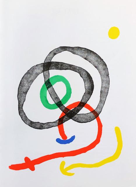 Joan Miró, '1960s Miró lithograph (derriere le miroir) ', 1967, Lot 180