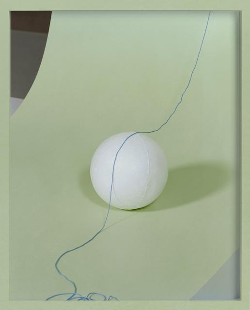 , 'Styrofoam Ball,' 2017, CURRO