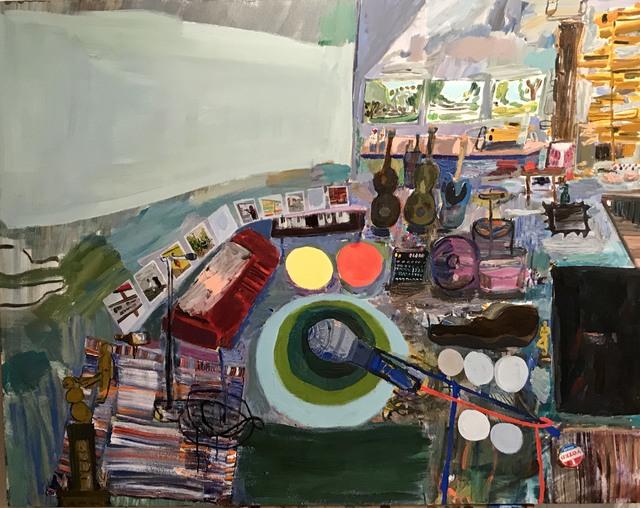 , 'Tim's Studio,' 2018, Jonathan Ferrara Gallery