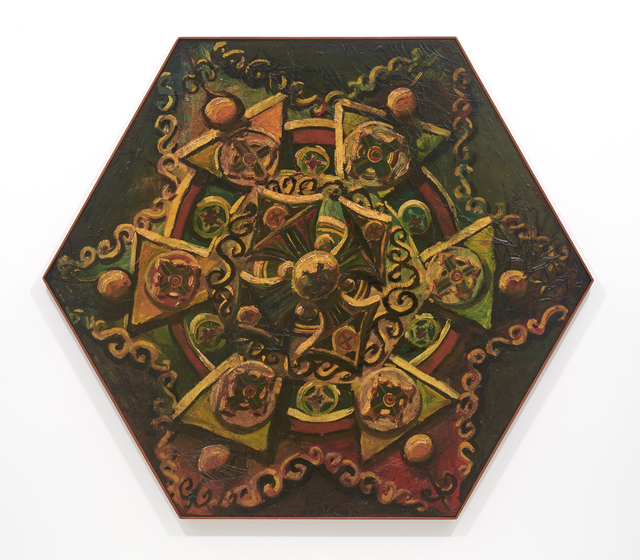 Wally Hedrick, 'Heroic Image', 1959/1990, Brian Gross Fine Art