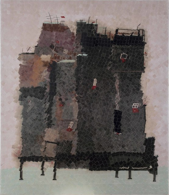 , 'Häuser im Wasser,' 2017, Zilberman Gallery