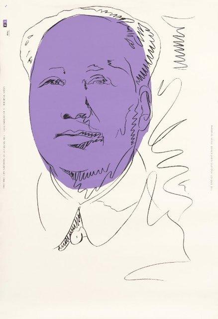 Andy Warhol, 'Mao', 1974/1989, michael lisi / contemporary art