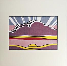 Sinking Sun, 1964 (Lt Ed Promotional Print for Art Basel)