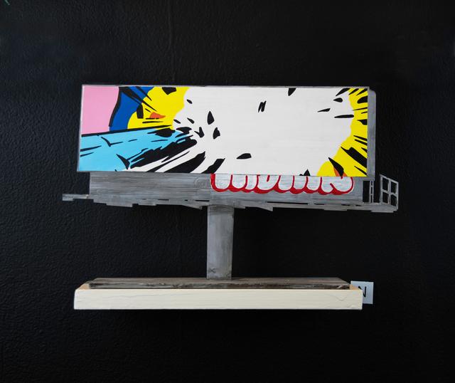 , 'Billboard N,' 2018, EWKUKS
