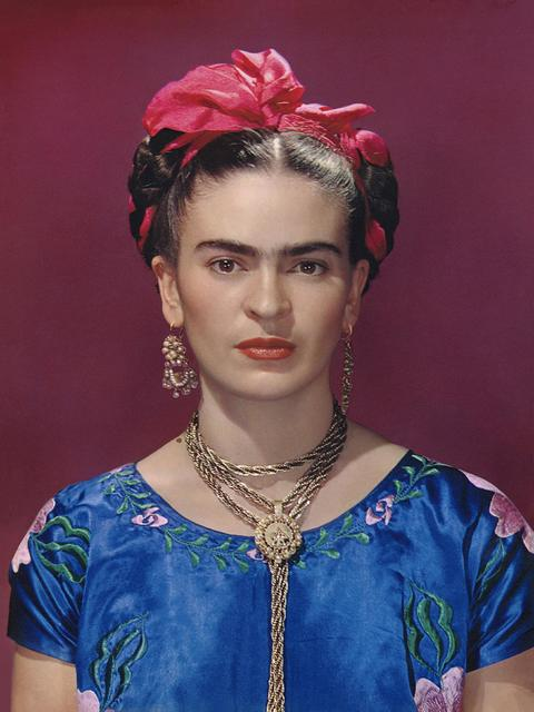 , 'Frida in Blue Silk Dress,' 1939, PDNB Gallery