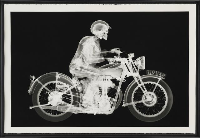Nick Veasey, 'Matchless Rider (Standard Black)', 2019, Castle Fine Art
